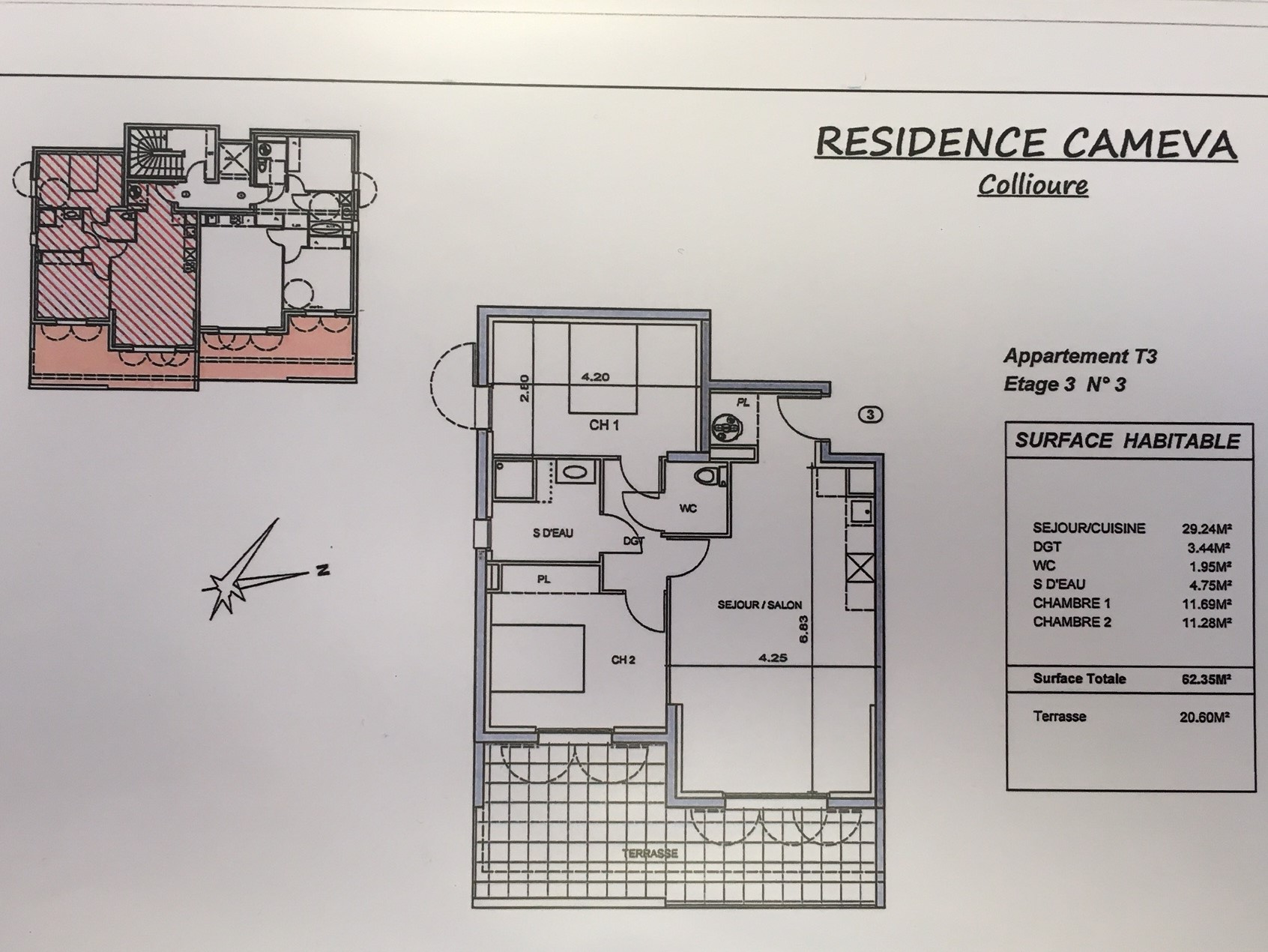 À vendre appartement de 58.93m2 à collioure (66190) - Photo 2'