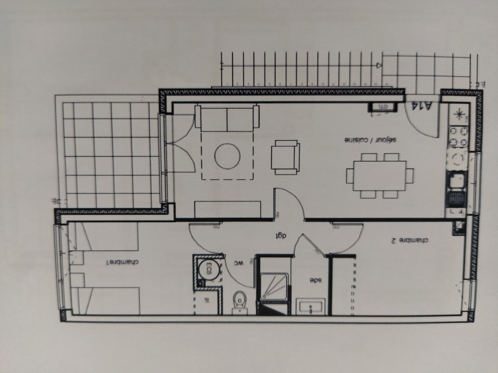 À vendre appartement de 51.6m2 à argeles sur mer (66700) - Photo 5'
